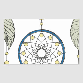 Sticker Rectangulaire Dreamcatcher