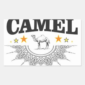 Sticker Rectangulaire étoiles du chameau