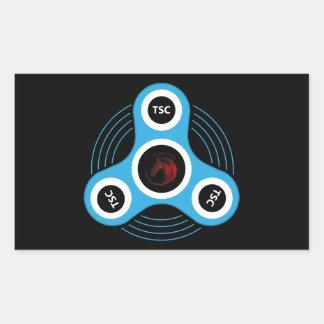 Sticker Rectangulaire Fileur de personne remuante de centre technique
