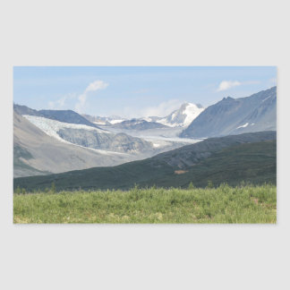 Sticker Rectangulaire Glacier