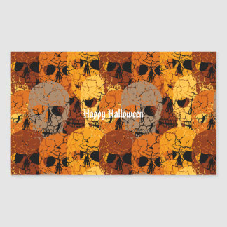 Sticker Rectangulaire Halloween