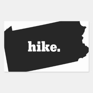 Sticker Rectangulaire Hausse Pennsylvanie