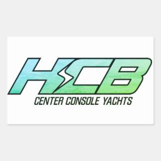 Sticker Rectangulaire HCB Consule centre des yachts