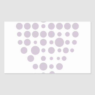 Sticker Rectangulaire Hexahedrons à l'intérieur d'ampoule d'idée