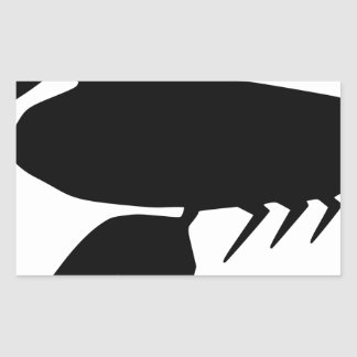 Sticker Rectangulaire Homard