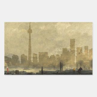 Sticker Rectangulaire Horizon 41 de Toronto
