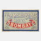 Sticker Rectangulaire Hôtel du Taj Mahal
