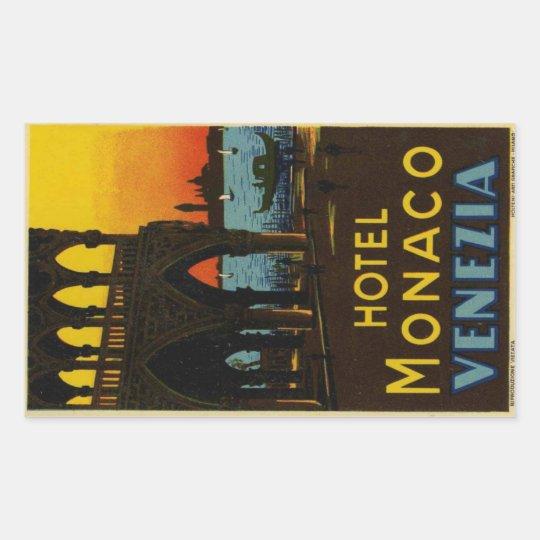 Sticker Rectangulaire Hotel Monaco Venezia