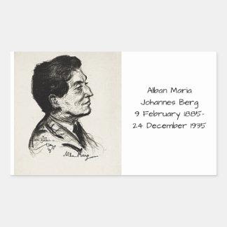 Sticker Rectangulaire Iceberg d'Alban Maria Johannes