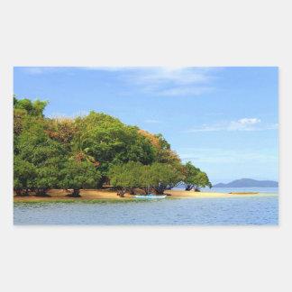 Sticker Rectangulaire Île de Palawan