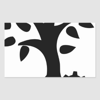 Sticker Rectangulaire Ingénierie verte