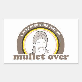 Sticker Rectangulaire J'ai besoin juste d'une certaine heure au mulet