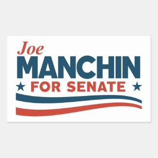 Sticker Rectangulaire Joe Manchin pour le sénat