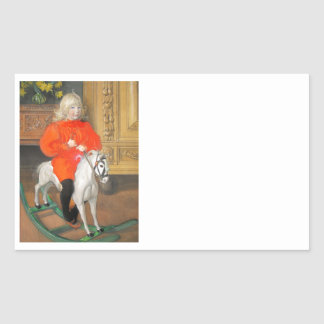 Sticker Rectangulaire Jour Rockinghorse de Lucia