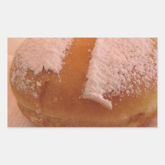 Sticker Rectangulaire Krapfen simple (beignet italien)