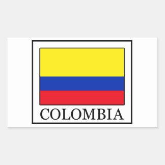 Sticker Rectangulaire La Colombie