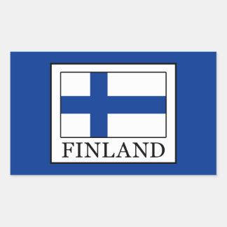 Sticker Rectangulaire La Finlande