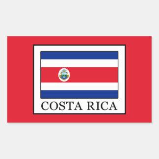 Sticker Rectangulaire Le Costa Rica