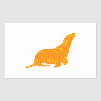 Sticker Rectangulaire Le joint d'or