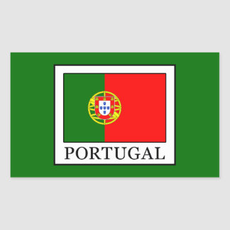 Sticker Rectangulaire Le Portugal