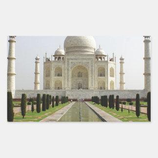 Sticker Rectangulaire Le Taj Mahal