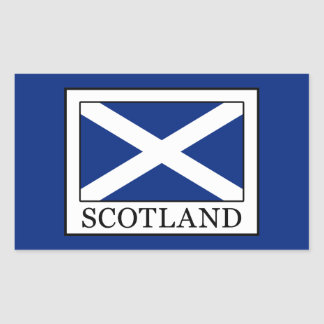 Sticker Rectangulaire L'Ecosse