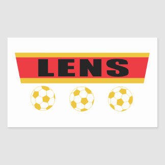 Sticker Rectangulaire Lens football Pas-de-Calais