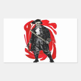 Sticker Rectangulaire Les hommes morts ne disent aucun conte