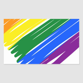 Sticker Rectangulaire lgbt16