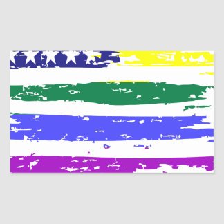 Sticker Rectangulaire lgbt21