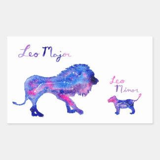 Sticker Rectangulaire Lion et CUB