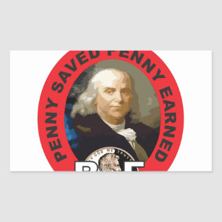 Sticker Rectangulaire Loi Ben de penny