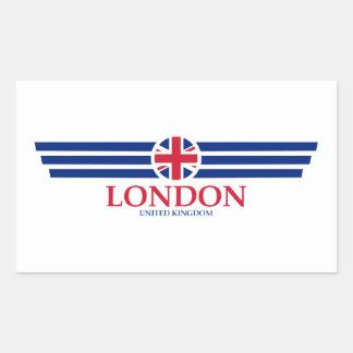 Sticker Rectangulaire Londres
