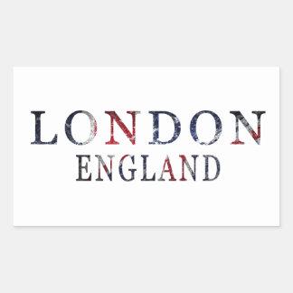Sticker Rectangulaire Londres, Angleterre