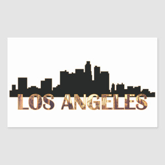 Sticker Rectangulaire Los Angeles