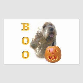 Sticker Rectangulaire L'Otterhound Halloween HUENT