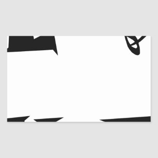 STICKER RECTANGULAIRE LOVE19