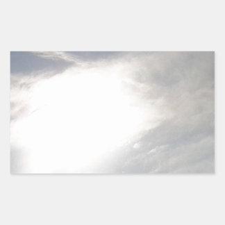 Sticker Rectangulaire Lueur de Sun