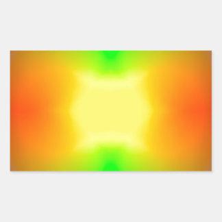 Sticker Rectangulaire L'univers de division