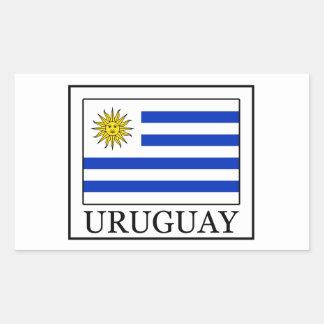 Sticker Rectangulaire L'Uruguay