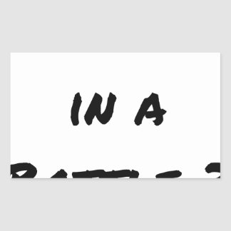 Sticker Rectangulaire MASSAGE IN A BOTTLE ? - Jeux de mots