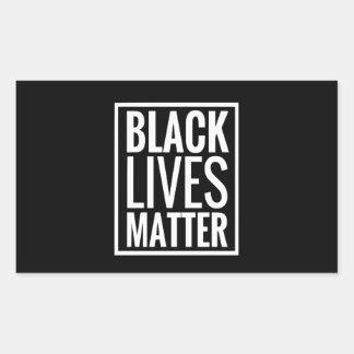 Sticker Rectangulaire Matière noire des vies