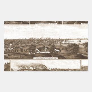 Sticker Rectangulaire Milwaukee 1882