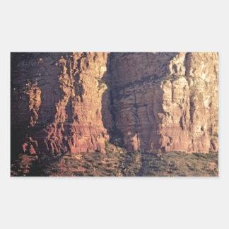 Sticker Rectangulaire monument gentil de roche