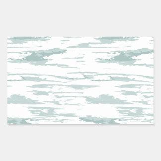 Sticker Rectangulaire Motif 10 de courses de brosse