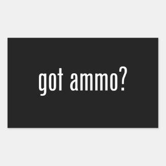 Sticker Rectangulaire munitions obtenues ?