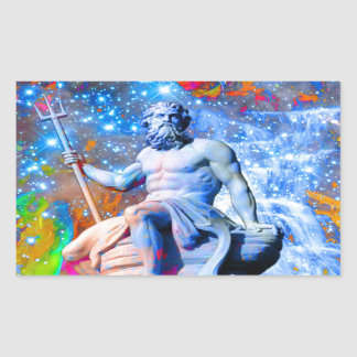 Sticker Rectangulaire Neptune