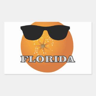 Sticker Rectangulaire nuances de la Floride