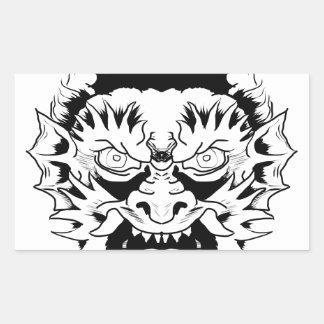 Sticker Rectangulaire Nymphe de diable