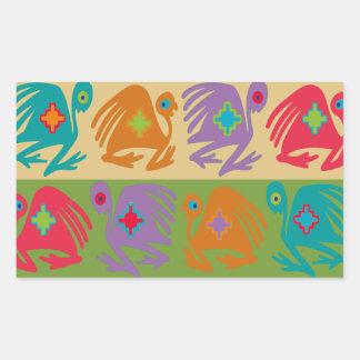 Sticker Rectangulaire Oiseaux péruviens